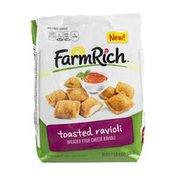 Farm Rich Toasted Ravioli Breaded Four Cheese Ravioli