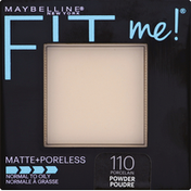 Maybelline Pressed Powder, Normal to Oily, Porcelain 110