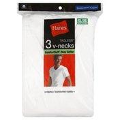 Hanes T-Shirts, V-Necks, XL