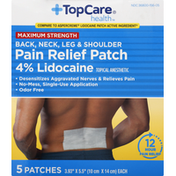 TopCare Pain Relief Patch, Maximum Strength
