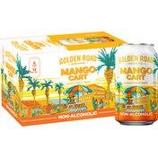 Golden Road Brewing Mango Cart Non-Alcoholic Wheat Brew