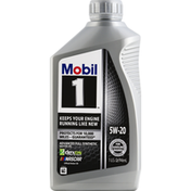 Mobil Motor Oil, Advanced, Synthetic, 5W-20