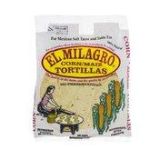 El Milagro Corn Tortillas - 12 CT