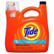 Tide Liquid Laundry Detergent, Clean Breeze