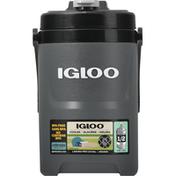 Igloo Cooler, Nightfall Charcoal, Laguna Pro, 0.5 Gallon