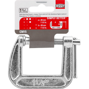 Bessey C-Clamps, Light Duty, Drop Forged, 1-1/2 Inches
