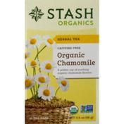 Stash Tea Organic Herbal Tea Caffeine Free Chamomile