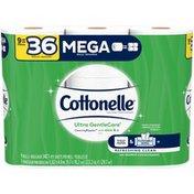 Cottonelle Ultra GentleCare Mega Roll Toilet Paper Bath Tissue