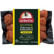 Aidells Chicken Meatballs Twin Pack, Teriyaki & Pineapple, 24 oz. (Fully Cooked