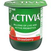 Activia Strawberry Lowfat Yogurt