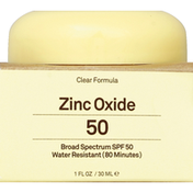 Sun Bum Zinc Oxide, Broad Spectrum SPF 50, Clear Formula
