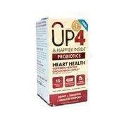 UP4 Probiotics Heart Health Probiotics Vegetable Capsules
