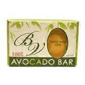 Bella Vado 100% Avocado Soap Bar Jasmine Scent