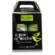 Mr. Canary Thistle-Sock Birdfeeders