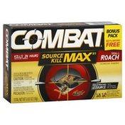 Combat Bait Stations, Child-Resistant, Small Roach, Bonus Pack