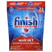 Finish Automatic Dishwasher Detergent, Wrapper Free Tabs