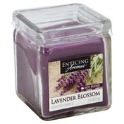 Enticing Aromas Scented Candle, Lavender Blossom, Soy Blend