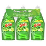 Gain Ultra Dishwashing Liquid Dish Soap, Original Scent
