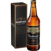 Budweiser Reserve Jim Beam Black Lager Beer Bottle