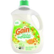 Gain Plant Based Liquid Fabric Softener, Orange Blossom Vanilla