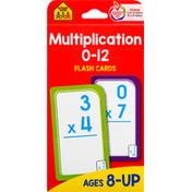 School Zone Flash Cards, Multiplication, 0-12