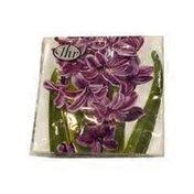 Ideal Home Range Lilac Hyacinth Cocktail Napkin