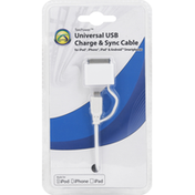 Symtek USB Charge & Sync Cable, Universal