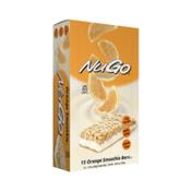 NuGo Original Orange Smoothie, Gluten Free, Protein Bar