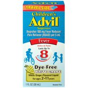 Advil Children's White Grape Suspension Fever Reducer/Pain Reliever