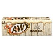 A&W Root Beer, Zero Sugar, 12 Pack