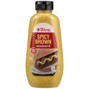 Tops Spicy Brown Gluten Free Mustard