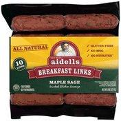 Aidells Maple Sage Breakfast Sausage