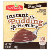 Our Family Chocolate Instant Pudding & Pie Filling