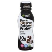 Orgain Coffee + Protein, Organic, Iced Coffee, Cold Brew