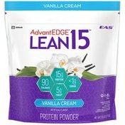 EAS Lean 15 Vanilla Cream EAS AdvantEDGE Lean 15 Protein Powder Vanilla Cream Powder Canister