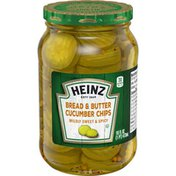 Heinz Bread'N'Butter Sweet And Spicy Slices Pickles
