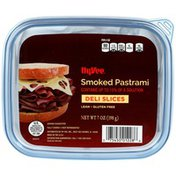 Hy-Vee Smoked Pastrami Deli Slices
