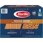 Barilla® Whole Grain Pasta Penne and Spaghetti