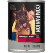 Companion Beef Cuts Dog Food