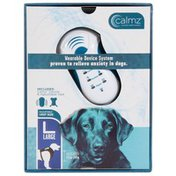 Calmz Large Black Anxiety Relief System Wearable Dog Vest