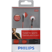 Philips Headphones, In-Ear Sports, Tuned for Sports