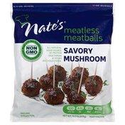 Nates Meatless Meatballs, Savory Mushroom