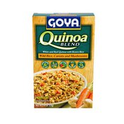 Goya Quinoa Blend, with Wild Rice, Carrots and Mushrooms