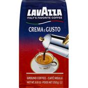 Lavazza Coffee, Ground, Crema E Gusto