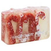 Primal Elements Soap, Handmade, Candy Cane