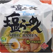 Sapporo Ichiban Shio Ramen, with Sesame Pack