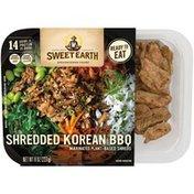 Sweet Earth Shredded Korean Style BBQ Marinated Plant-Based Shreds