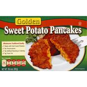 Golden. Sweet Potato Pancakes