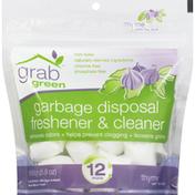 Grab Green Garbage Disposal Freshner & Cleaner, Thyme with Fig Leaf