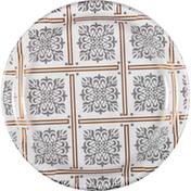 First Street Plates, Majestic Metallics, 6.75 Inch